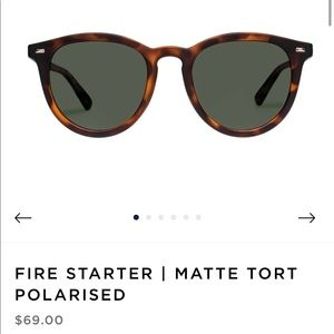 Le Specs Sunglasses Fire Starter in Matte Tort